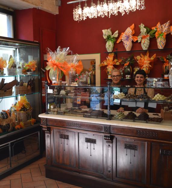 Lucca Cioccolateria Caniparoli