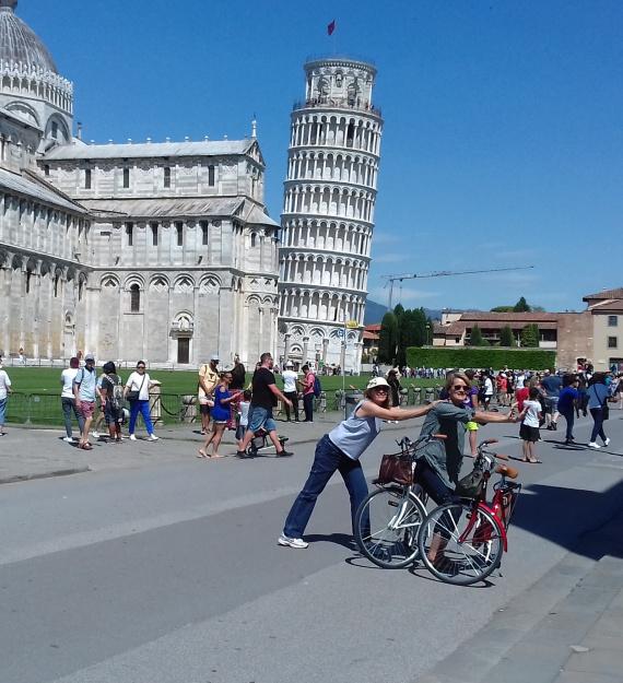 Pisa by bike 0