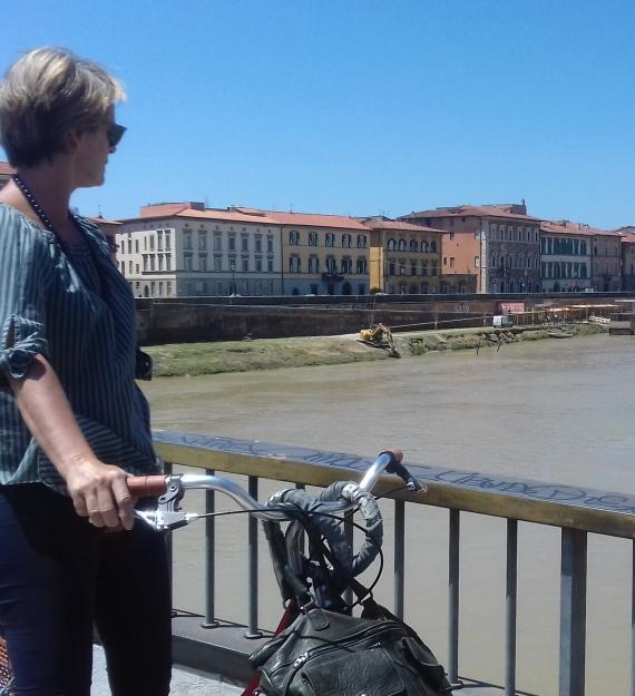 Pisa by bike 8