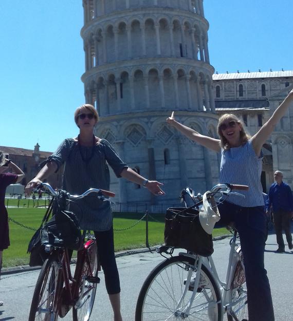 Pisa by bike 1