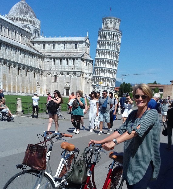 Pisa by bike 2