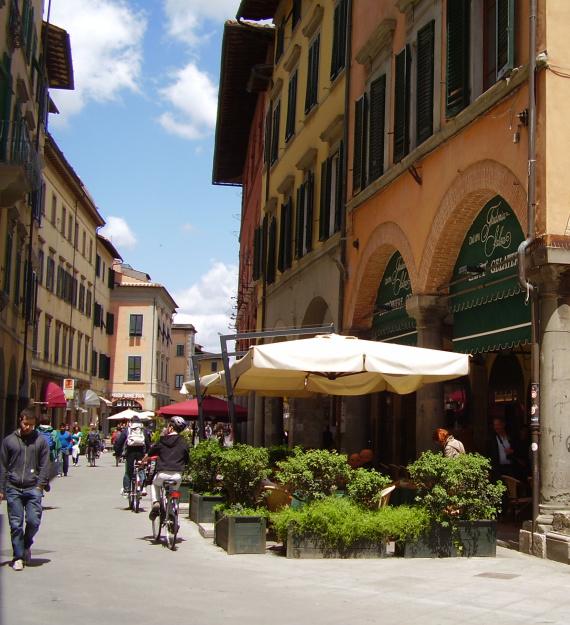 Pisa by bike 3
