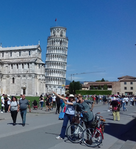 Pisa by bike