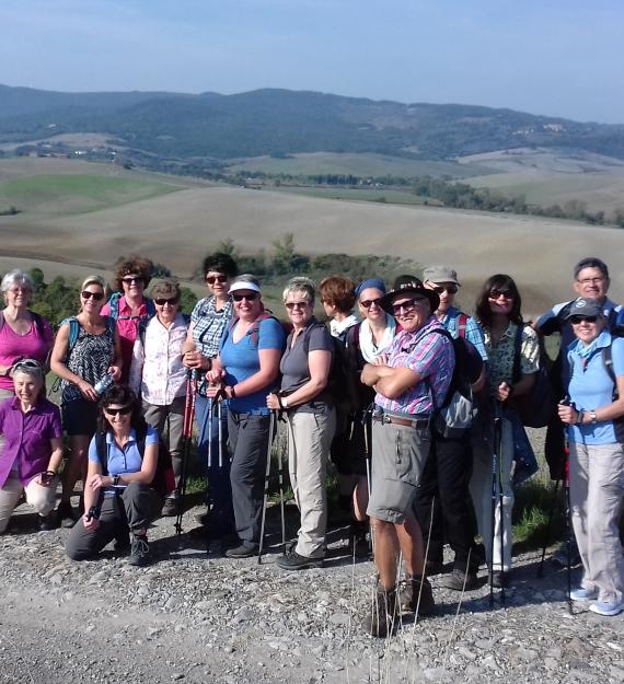 Wanderung Toskana a