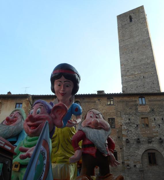 Karneval San Gimignano