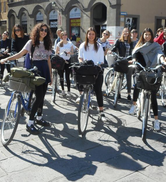 Lucca bike tour