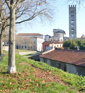 Stadtführung in Lucca