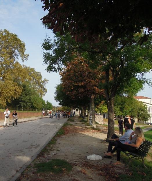 Lucca walking tour 2018
